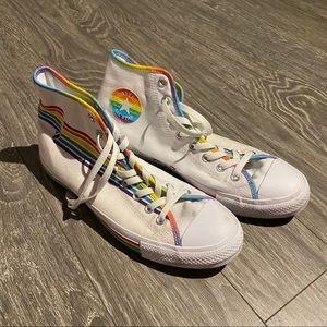 Men's custom pride converse